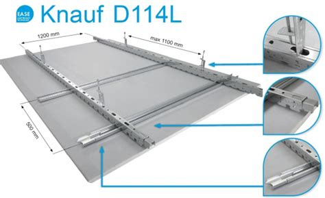 Nový podhled Knauf D114L EASE | iMaterialy