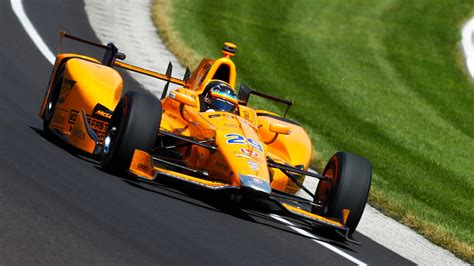 Alonso Confirms 2019 Indy 500 Bid With McLaren