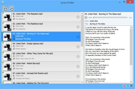 Lyrics Finder Finds Lyrics And Adds Them To Your MP3 Files