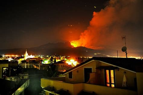 In pictures: the eruptions of Mount Etna in Sicily, Europe