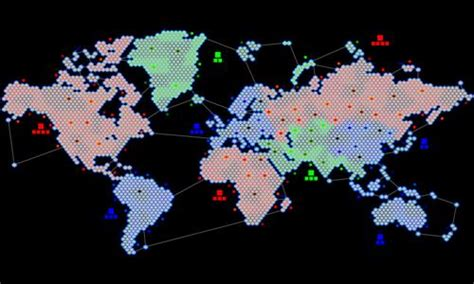 Hex Earth - Play Risk Online Free - Warzone